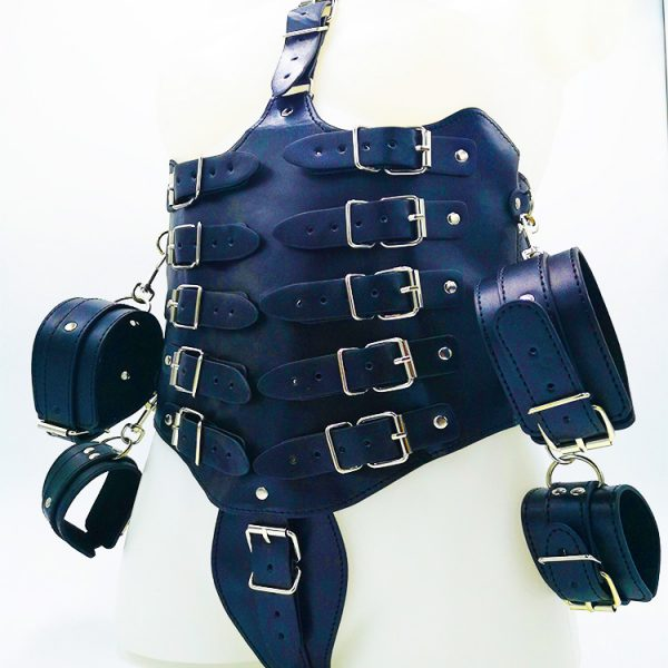 Block fetish corsage
