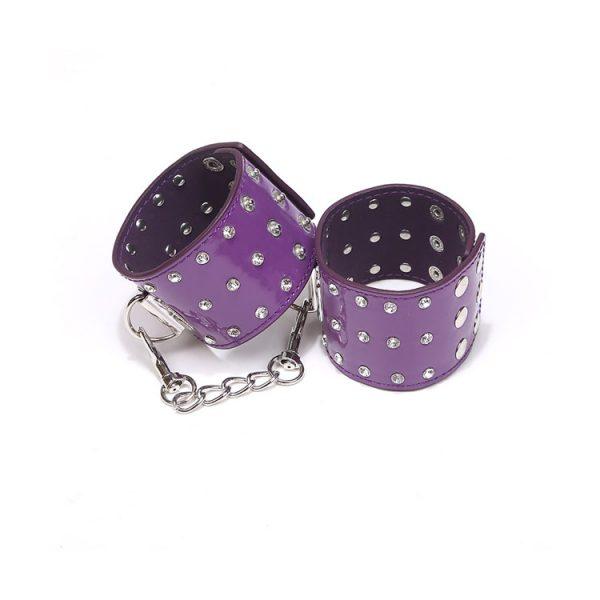 Manette purple aggressive cuff