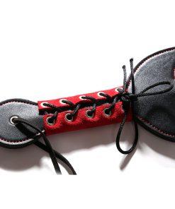 Black cat spanking paddle