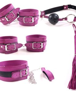 Kit bondage purple
