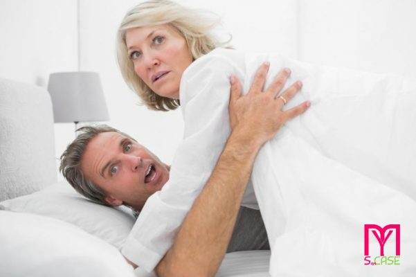 Ti è mai capitato di rimanere incastrato durante un rapporto sessuale